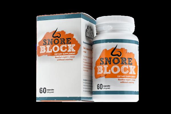 snore block efekty